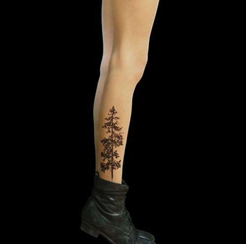 """Bộ sưu tập """"vớ Tattoo"""" tạo dáng cho đôi chân cá tính hơn - Ảnh 6"""