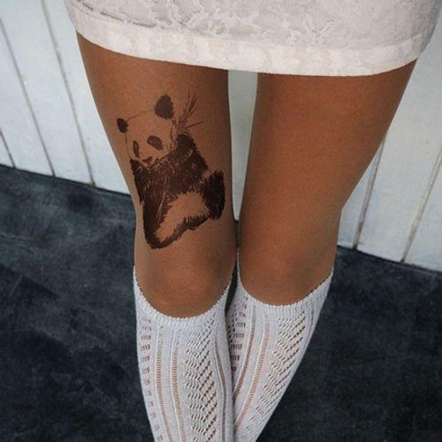 """Bộ sưu tập """"vớ Tattoo"""" tạo dáng cho đôi chân cá tính hơn - Ảnh 7"""