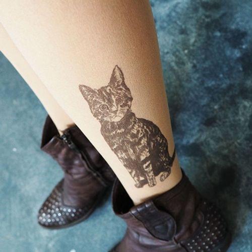 """Bộ sưu tập """"vớ Tattoo"""" tạo dáng cho đôi chân cá tính hơn - Ảnh 8"""
