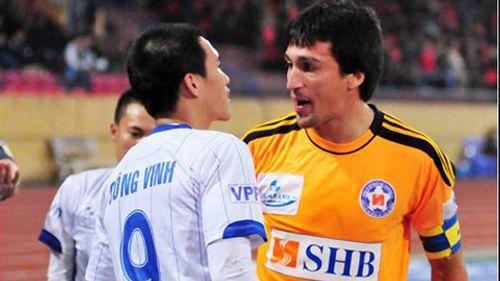 Vua phá lưới V.League đe dọa thành tích ghi bàn của Công Vinh - Ảnh 1