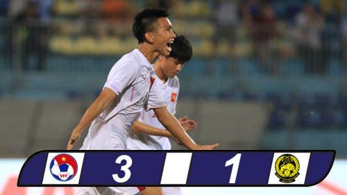 Hạ U19 Malaysia, U19 Việt Nam vào bán kết với ngôi nhất bảng - Ảnh 1