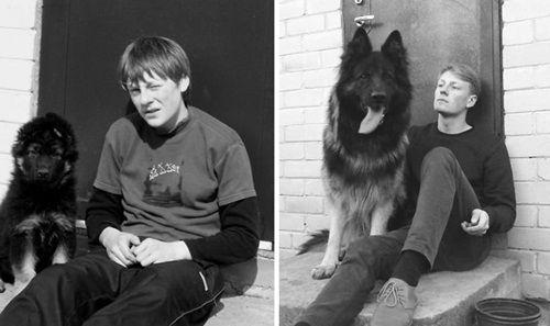 Cảm động chùm ảnh những chú chó và chủ cùng nhau lớn lên - Ảnh 3