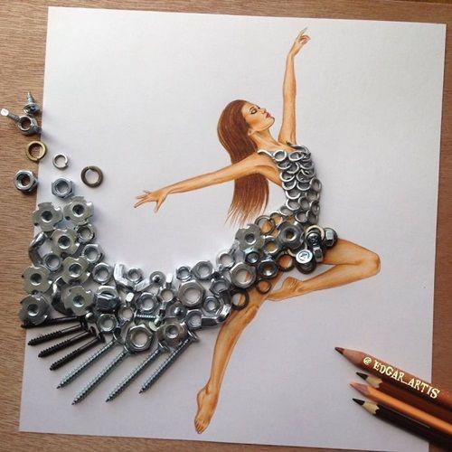 Ngắm bộ sưu tập thời trang được chế từ… vật dụng không ai ngờ tới - Ảnh 8
