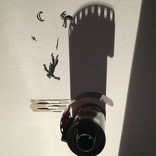 Nghệ sĩ vẽ tranh nghệ thuật từ những… chiếc bóng khiến nhiều người 'tròn mắt' - Ảnh 6