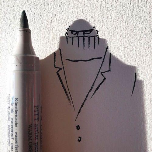 Nghệ sĩ vẽ tranh nghệ thuật từ những… chiếc bóng khiến nhiều người 'tròn mắt' - Ảnh 8