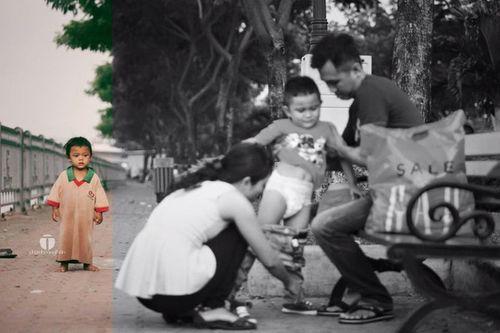 Bức ảnh khiến bạn chạnh lòng: 2 cuộc đời và 2 số phận trẻ nhỏ... - Ảnh 4