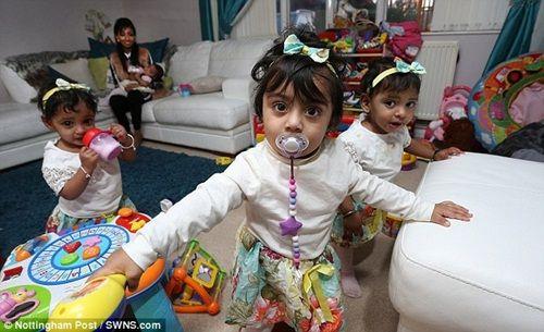 5 năm sảy thai 17 lần, cuối cùng cô gái này cũng được làm mẹ của 4 đứa trẻ - Ảnh 2