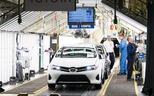 """Ngành sản xuất ô tô ở nước Anh gặp khó trước nguy cơ """"Brexit cứng"""" - Ảnh 1"""