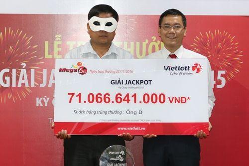 Khách hàng quê Quảng Ngãi là chủ nhân giải xổ số 71 tỷ đồng - Ảnh 1