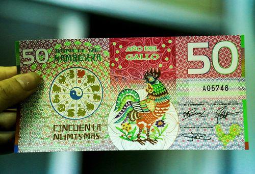 Điểm danh những tờ tiền in hình gà được săn đón dịp tết Đinh Dậu - Ảnh 3