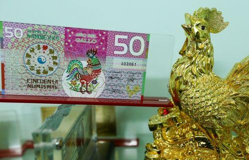 Điểm danh những tờ tiền in hình gà được săn đón dịp tết Đinh Dậu - Ảnh 6