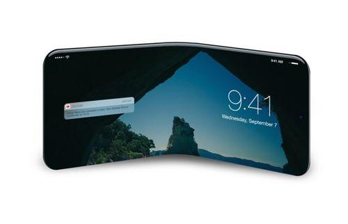 Rò rỉ mẫu iPhone có thể gập lại được của Apple - Ảnh 2