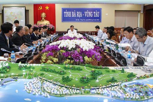 Tập đoàn Tuần Châu đề xuất xây dựng siêu đô thị cảng ở Vũng Tàu - Ảnh 1
