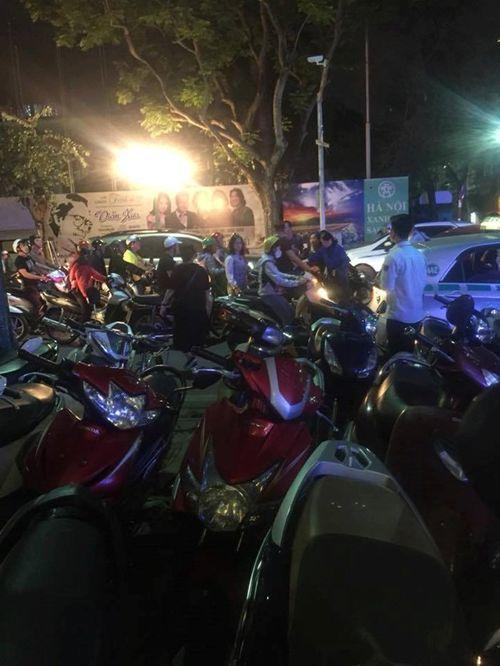 Phó Giám đốc bệnh viện Tim Hà Nội bị hành hung sau va chạm giao thông - Ảnh 1