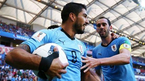 Suarez tỏa sáng, Urugoay vượt qua Saudi Abaria với tỷ số tối thiểu - Ảnh 1
