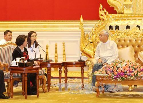 Chủ tịch Quốc hội kết thúc chuyến thăm Lào, Campuchia, Myanmar - Ảnh 1