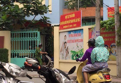 TP HCM: Súng nổ trong UBND phường, 1 người tử vong - Ảnh 1