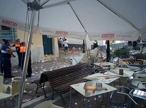 Ít nhất 77 người bị thương trong vụ nổ lớn ở hội chợ tại Tây Ban Nha - Ảnh 1