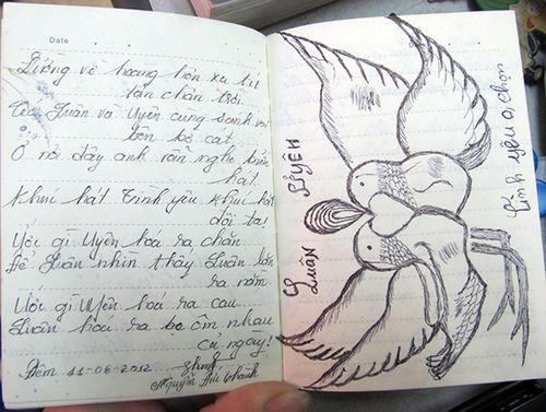 Cuốn nhật ký và mối tình đẫm nước mắt của một tử tù - Ảnh 1