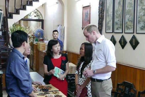 Hoàng tử Anh William dạo phố cổ Hà Nội, uống cà phê vỉa hè - Ảnh 2