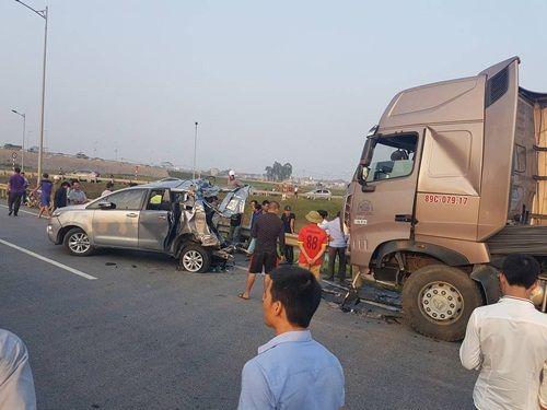 Hé lộ nguyên nhân vụ tai nạn trên cao tốc Hà Nội - Thái Nguyên  - Ảnh 1