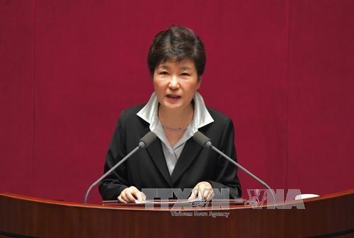 Phản ứng về bài phát biểu của Tổng thống Park Geun-hye - Ảnh 1