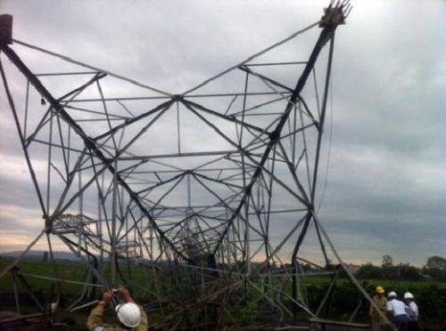 Truy trách nhiệm vụ đổ cột điện đường dây 500kV - Ảnh 1