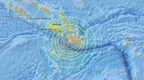 Mỹ: Xảy ra trận động đất thứ 2 trong hơn 24 giờ tại quần đảo Solomon - Ảnh 1