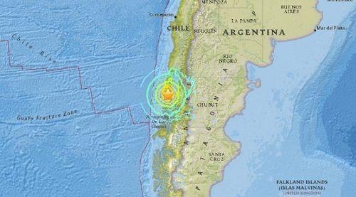 Chile: Cảnh báo sóng thần sau trận động đất mạnh 7,7 độ Richter - Ảnh 1