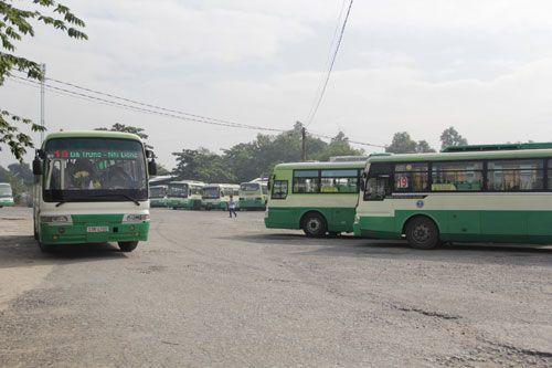 TP HCM tăng hơn 1.000 chuyến xe bus phục vụ người dân dịp Tết Dương lịch - Ảnh 1