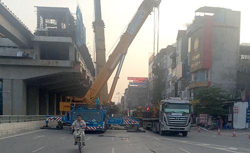 Nhà thầu đường sắt Cát Linh - Hà Đông bị phạt 30 triệu đồng - Ảnh 1