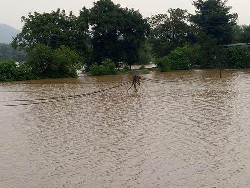 Hà Tĩnh: Mải chơi ngoài đồng, 2 bé trai bị nước lũ cuốn tử vong - Ảnh 1