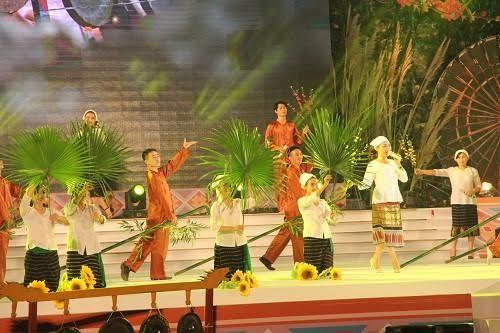 Tưng bừng Ngày hội hoa hướng dương và Đêm hội sắc xuân miền Tây ở Nghệ An - Ảnh 2