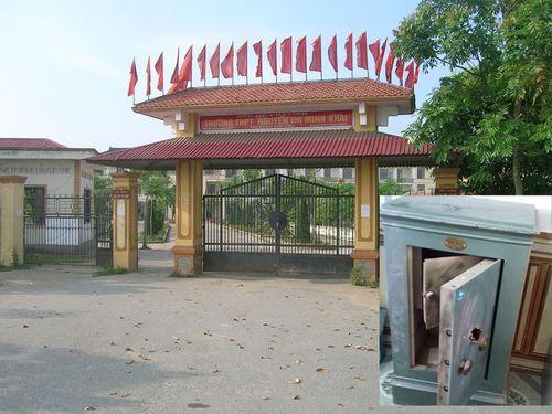 Trộm đột nhập trường học, phá két lấy 300 trăm triệu đồng - Ảnh 1
