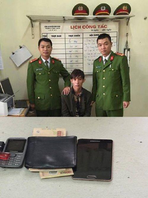 Vào cắt tóc, nam thanh niên trộm điện thoại của chủ quán - Ảnh 1