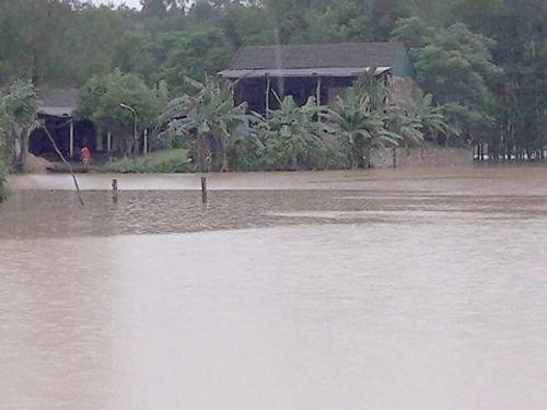 Hà Tĩnh: Nhiều xã miền núi bị cô lập do mưa lũ - Ảnh 3