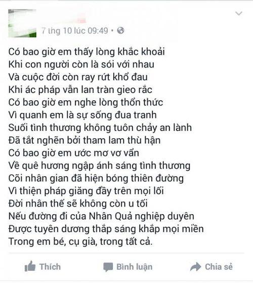 Vụ người phụ nữ tự thiêu ở Huế: Nạn nhân viết tâm thư trên facebook  - Ảnh 1