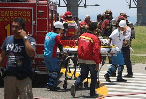 Cháy trung tâm thương mại tại Peru, 5 người thiệt mạng - Ảnh 1