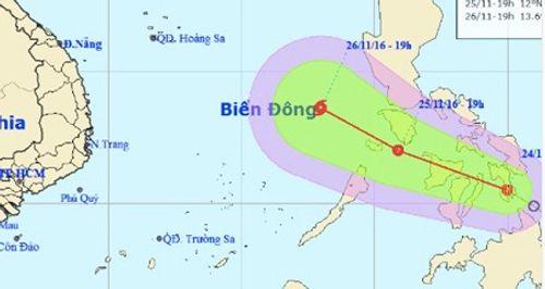 Biển Đông hứng áp thấp, miền Trung mưa lớn, Bắc Bộ không khí lạnh tăng cường - Ảnh 1