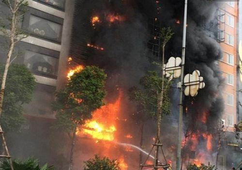 Xác định thiệt hại ban đầu vụ cháy quán karaoke tại Hà Nội - Ảnh 2