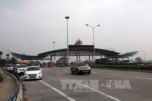 Dừng thu phí trạm Đại Xuyên trên cao tốc Pháp Vân - Cầu Giẽ - Ảnh 1