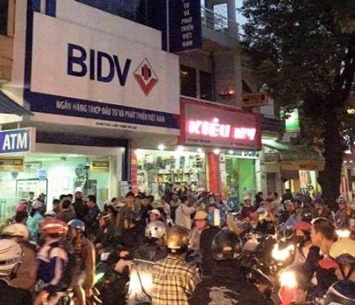 BIDV thông tin chính thức vụ cướp ngân hàng tại chi nhánh ở Huế - Ảnh 1