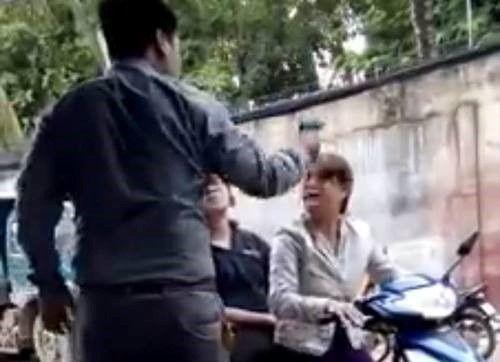 Vụ nổ súng dọa phụ nữ: Bắt giám đốc công ty bảo vệ - Ảnh 1