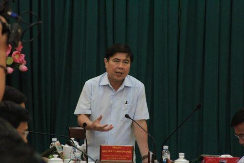 Chủ tịch Nguyễn Thành Phong nói gì khi TP HCM ngập nặng? - Ảnh 1