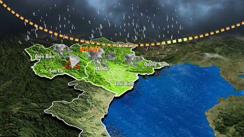 Dự báo thời tiết ngày mai 28/9: Mưa dông xuất hiện trên diện rộng - Ảnh 1