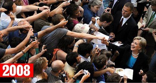 """Sự thật bức ảnh """"cả thế giới quay lưng"""" với bà Clinton - Ảnh 2"""