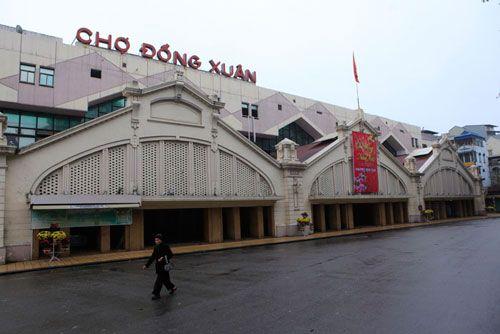 Đề xuất xây lại chợ lâu đời nhất Hà Nội - Ảnh 1