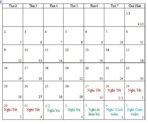 Thông tin nghỉ Tết Nguyên đán Đinh Dậu 2017 tới 10 ngày chưa chính xác - Ảnh 1