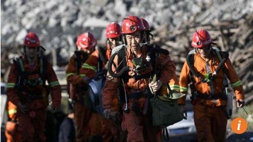 Nổ mỏ than tại Trung Quốc, 12 người thiệt mạng - Ảnh 1