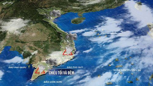 Dự báo thời tiết ngày mai 29/9: Bắc Bộ trời nắng, Nam Bộ tiếp tục mưa dông  - Ảnh 1